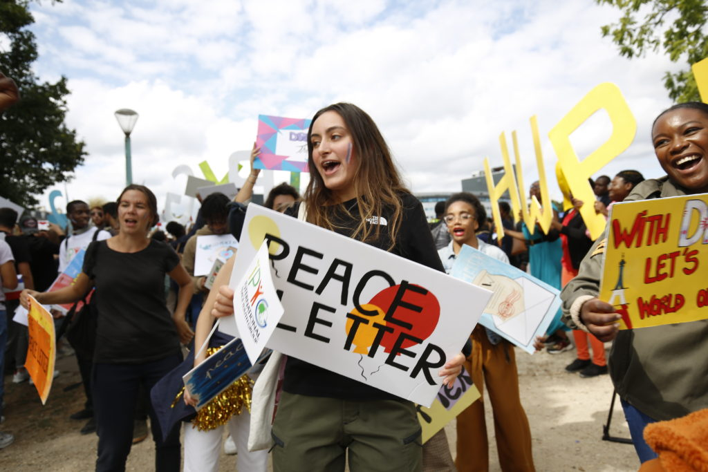 peace letter HWPL France
